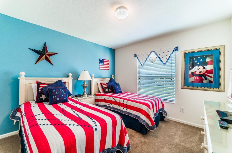 Patriotic Bedroom