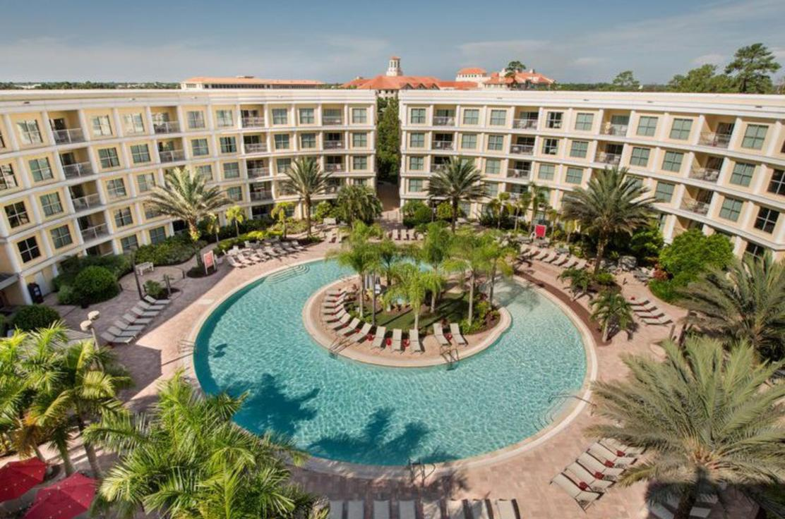 Melia Orlando Pool Overview