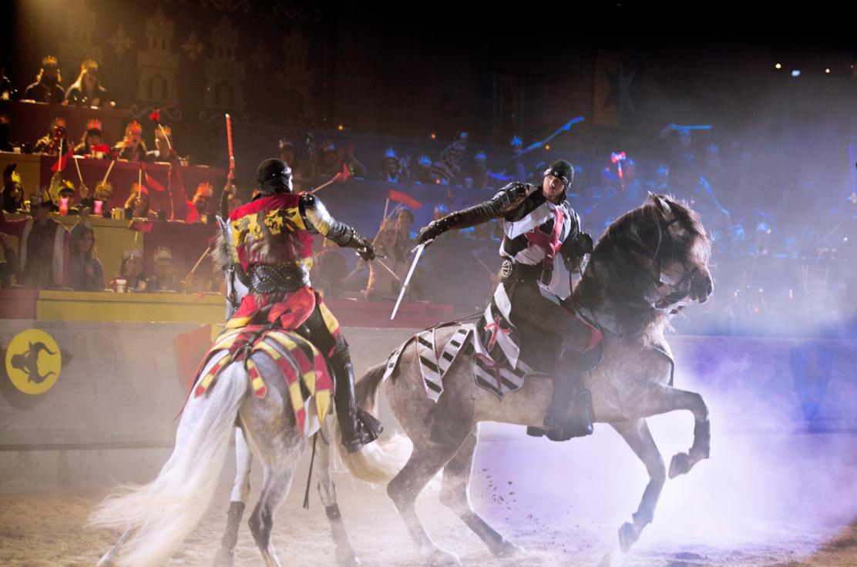 sword fights on horseback