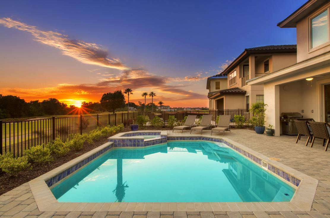 private pool homes near Orlando florida