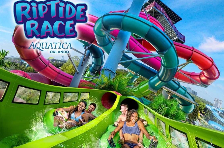 Aquatica Orlando Riptide Race
