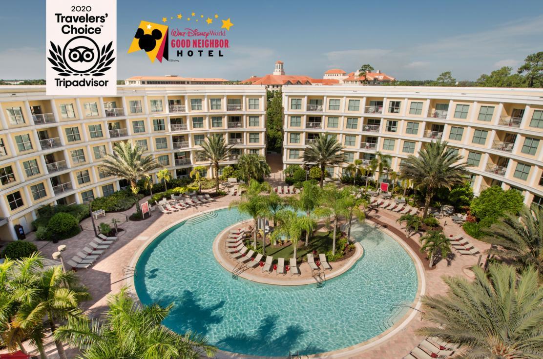 Melia Orlando Pool Area