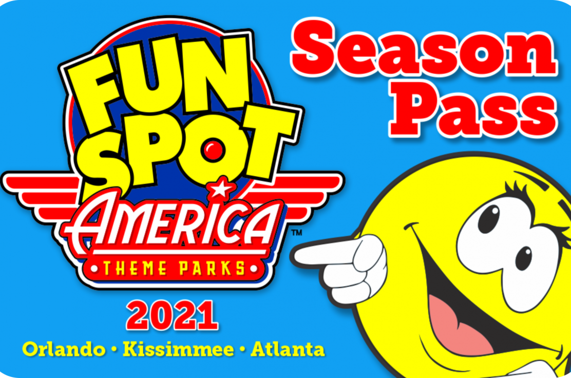 2021 Fun Spot America Season Pass