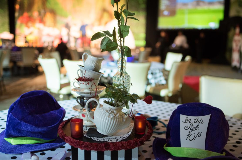 Absolute Event Experience Alice In Wonderland Centerpiece