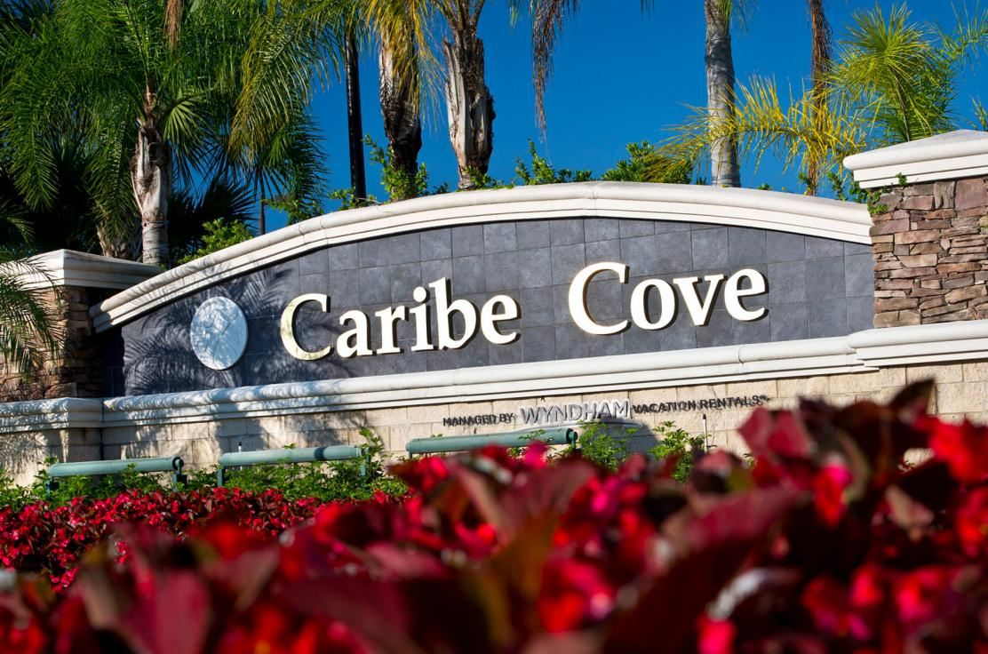 Entrance to Caribe Cove