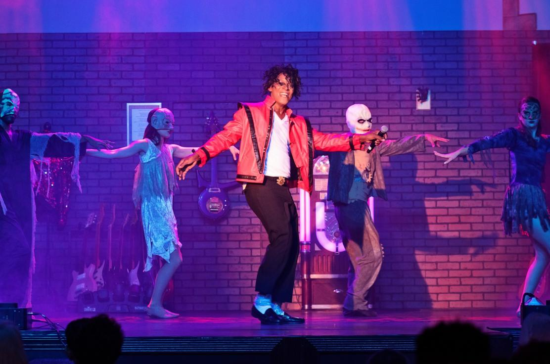 Michael Jackson THRILLER scene