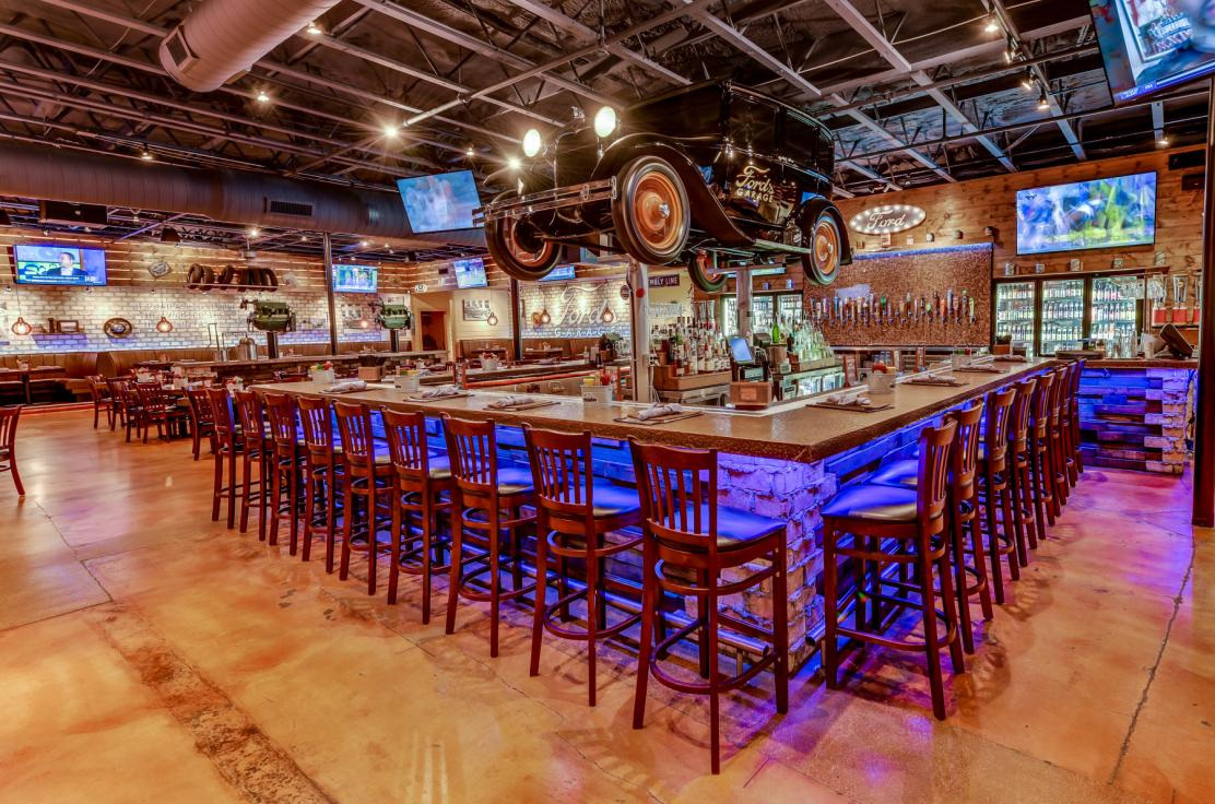 Ford's Garage is your neighborhood burger and beer joint, where everyone is welcome.