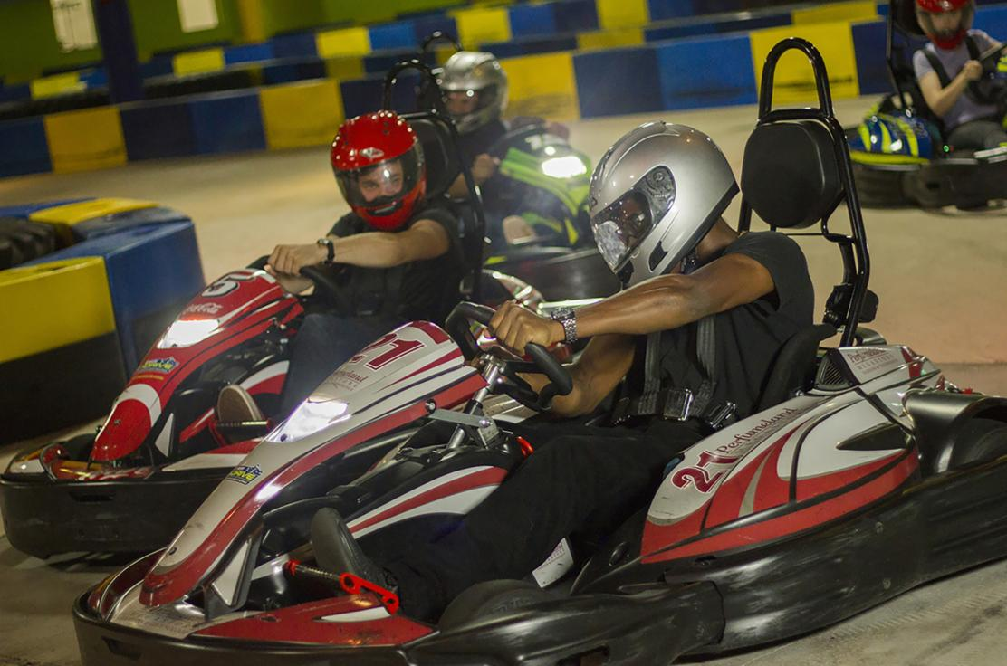 At I-Drive NASCAR, you Race for Real and Play for Fun.