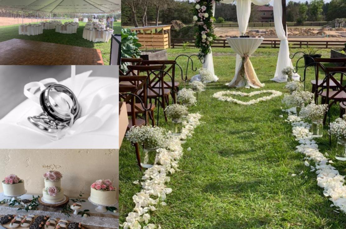 Our company has experienced and certified wedding planners aboard ready to help make your dream wedding a reality.