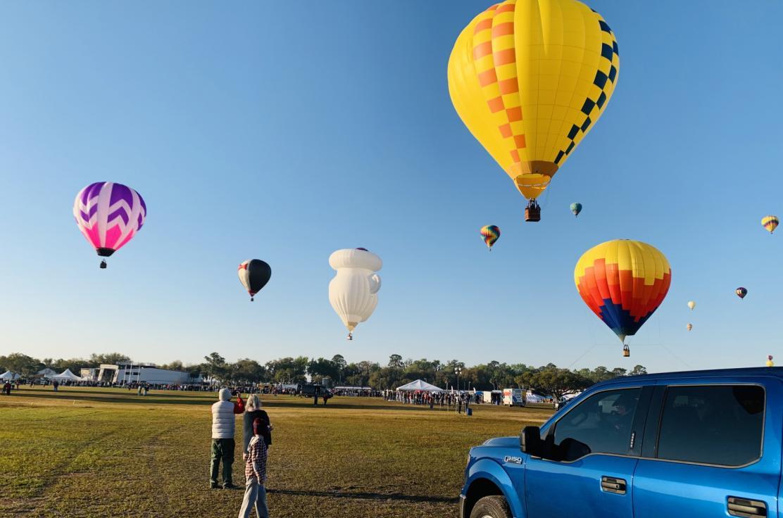 Sunshine balloon FL