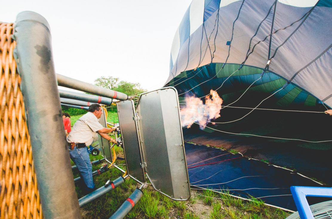 Adding hot-air to the balloon