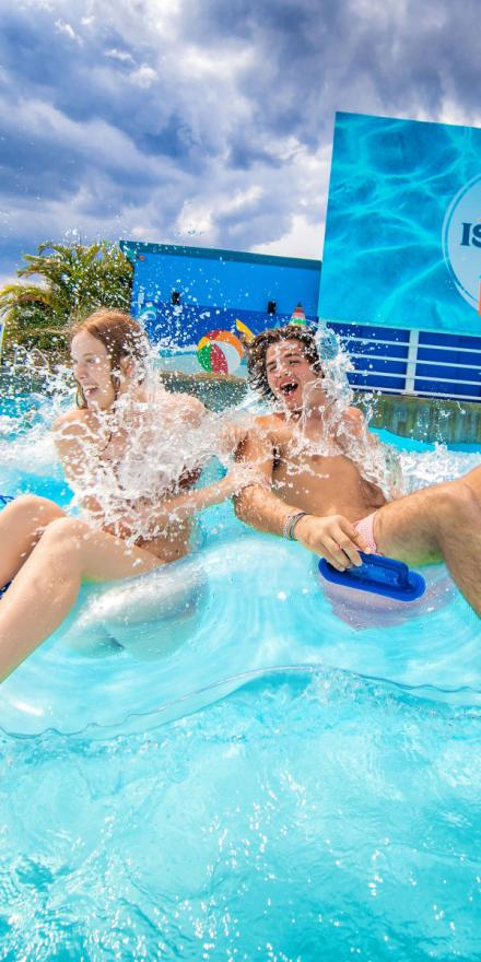 Island H2O Water Park is Central Florida's newest water park. The park combines refreshing family fun with cutting-edge technology to provide guests with a unique, immersive and interactive experience.