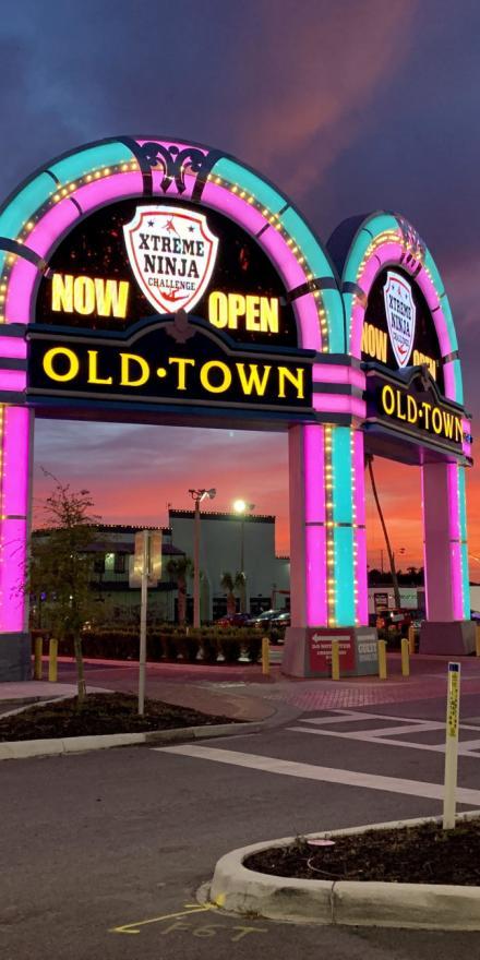 Old Town Jukebox sign