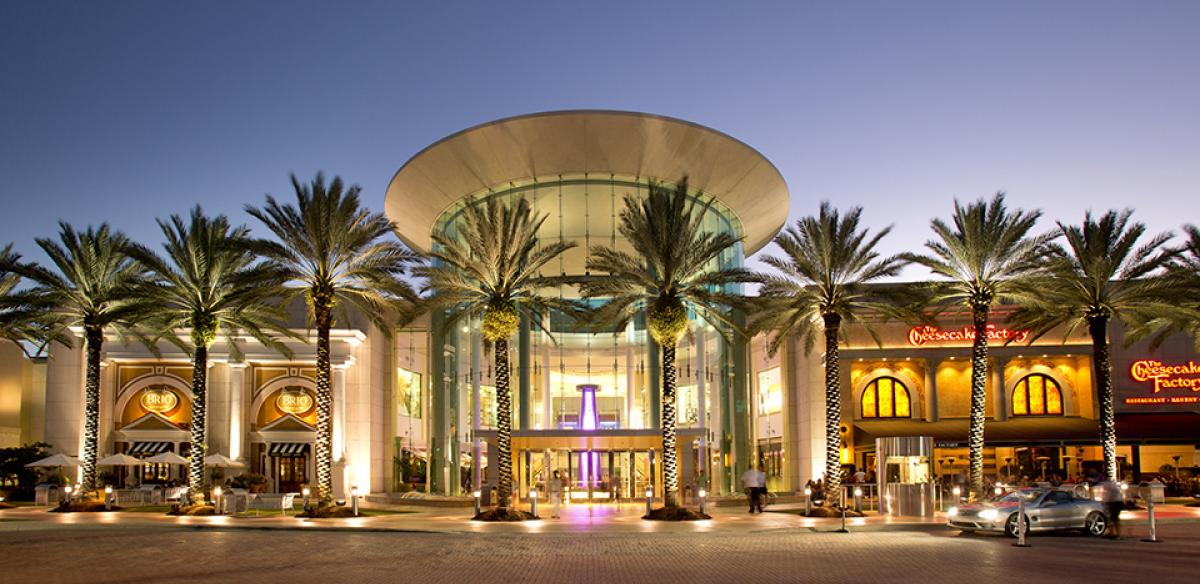 The Mall at Millenia is a luxury mall in Central Florida. Don't miss it when you visit Kissimmee!