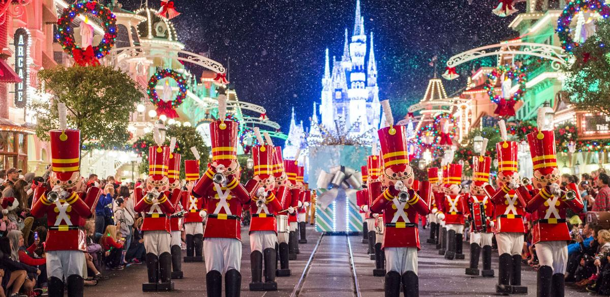 Celebrate the Holidays in Kissimmee - Christmas Parade at Walt Disney World