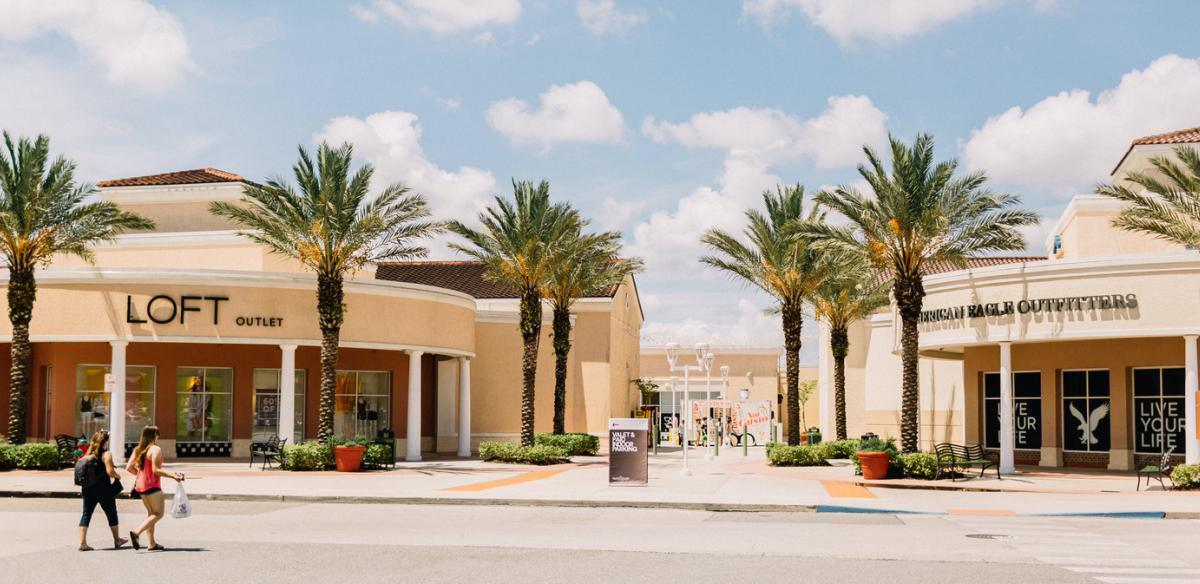 The Orlando Premium Outlets Exterior Shot