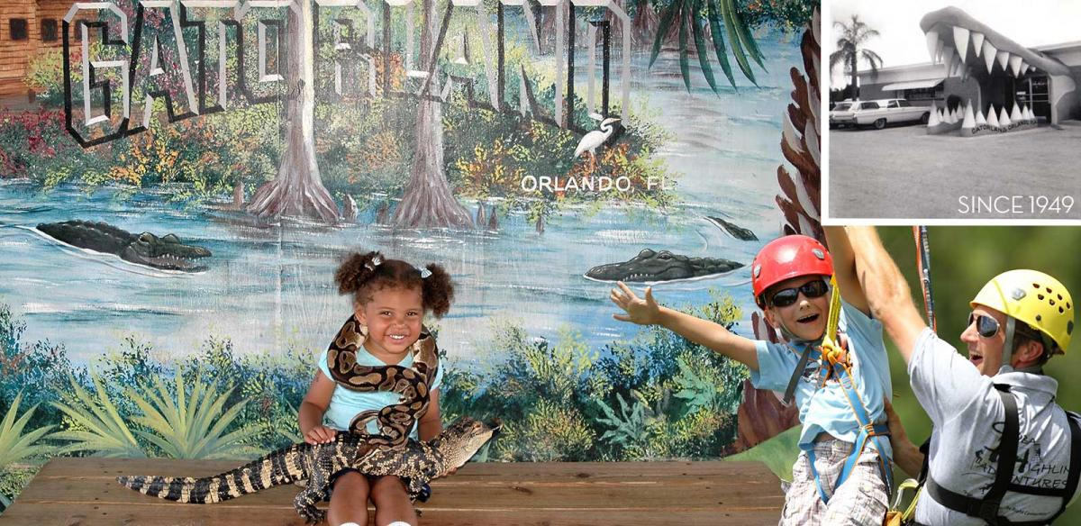 Children playing at Gatorland