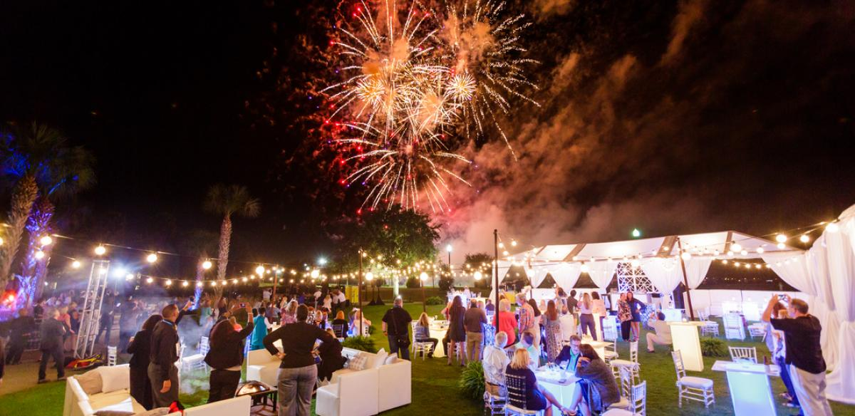 Conference held in Kissimmee, Florida with fireworks