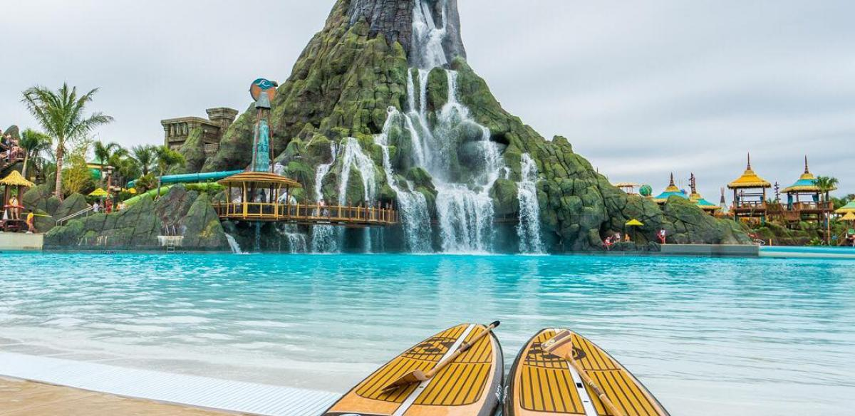 Volcano Bay Water Theme Park at Universal Orlando Resort photo by Instagram user travelbabbo