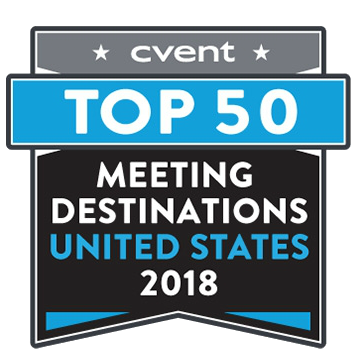 Cvent's Top 50 US Meeting Destinations